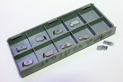 Iscar 06401705 Ic20 Carbide Inserts Lot Of 10
