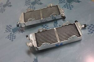 BRACED Aluminum Alloy Radiator  Fit TM-Racing EN MX 125 144 250 300 2008-2014