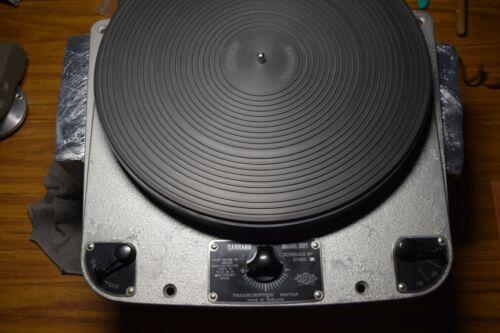 Garrard 301 Grease Bearing Turntable Serial Number 905 Original Un Restored