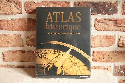 LIVRE  ATLAS HISTORIQUE NEUF.