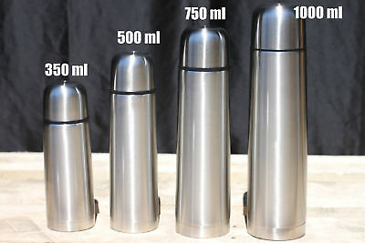 Stainless Steel Vacuum Thermos Portable Insulated Water Camping Flask Bottle - New Stainless Steel Thermos