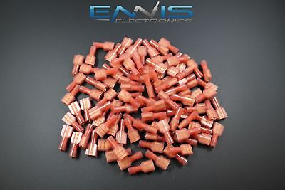 18-22 GAUGE 25 PK NYLON FULLY INSULATED QUICK DISCONNECT FEMALE .250 CONNECTOR