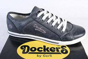 DOCKERS-Zapatos-De-Cordones-zapatillas-zapatos-gris-NUEVO