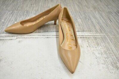 **Sam Edelman Dori Leather Pumps, Women's Size 6.5 W, Nude NEW