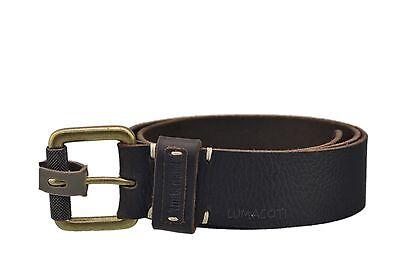 Mens Timberland Milled Buffalo Leather Belt B73006/73 - Milled Buffalo