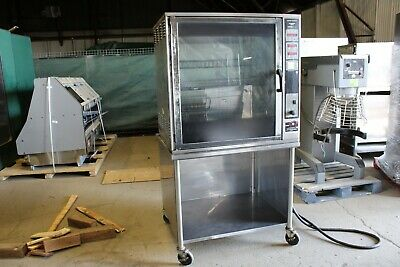 Henny Penny Scr-8 Rotisserie Oven W Stand Electric Baskets Grocery Commercial