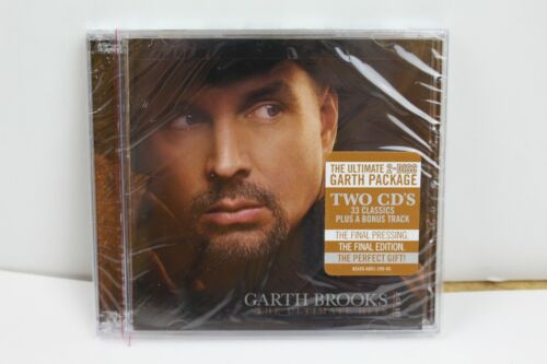 The Ultimate Hits by Garth Brooks (CD, 2 Discs) Brand New Sealed! music classic