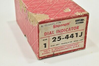 Vintage Starrett Dial Indicator 251-441j Machinist Box Only Empty No Tool