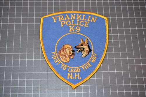 Franklin Police New Hampshire K-9 Patch (S03-1)