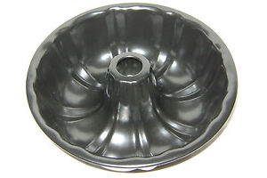 NEW TRADITIONAL NON-STICK BUNDT BUNT SAVARIN RING ROUND CAKE TIN PAN 22cm LARGE