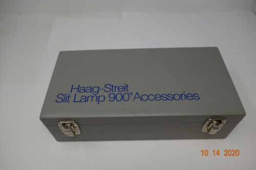 Haag-Streit Slit Lamp 900 Accessories *Complete Set* (Free Shipping)