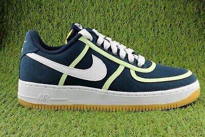 Nike Air Force 1 ´07 Premium CI9349-400 Schuhe Sneaker Herren Dunkelblau / Navy 07 Sneakers