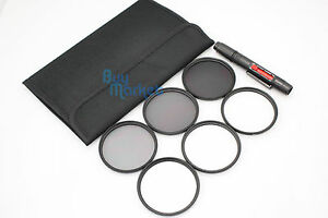 67MM 4X 6X 8X STAR ND2​+ND4+ND8 ND filter set with CASE & LENS PEN for DSLR DC