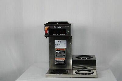 Ding Dent Bunn 12950.0252 Cwtf35-3 Automatic 7.5 Gallon Per Hour Coffee Brewer