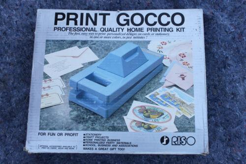 RISO Print Gocco B6 Home Mesh Printing Kit Set