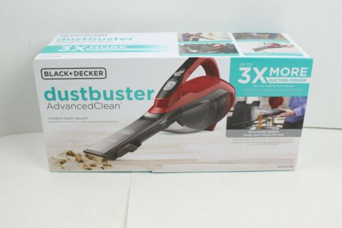 NEW BLACK+DECKER dustbuster Handheld Vacuum Cordless Chili Red (HLVA320J26)