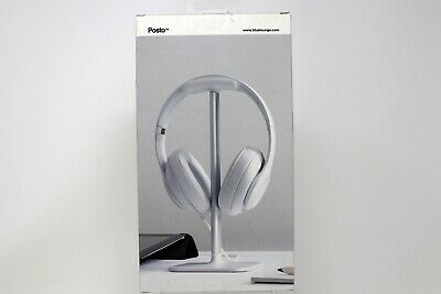 BlueLounge Posto Universal Headphone Stand White aluminium, used for sale  Shipping to India