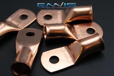 10 Gauge Copper 14 Ring 2 Pk Crimp Terminal Connector Awg Battery Cur1014