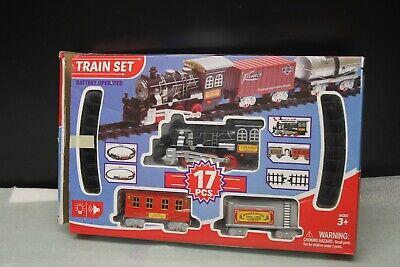 Train Set Prentend It's POLAR EXPRESS 17Pcs Battery Operated Christmas TreeDecor