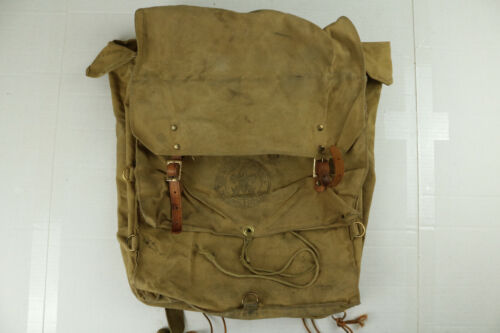 Vintage Boy Scouts of America BSA Cotton Canvas Yucca Pack No. 574 Backpack