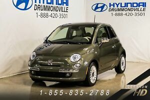 FIAT 500 LOUNGE + JAMAIS ACCIDENTÉ + GARANTIE + WOW + BAS K