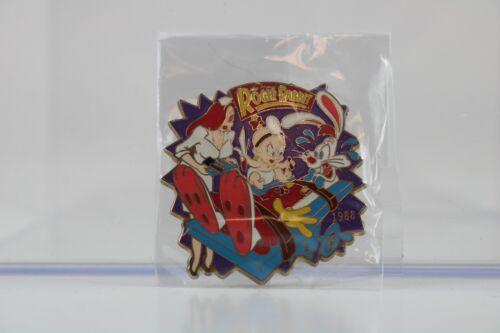 Disney Japan LE Pin History of Art Who Framed Roger Rabbit 1988 Jessica Baby