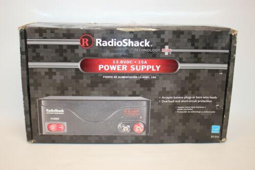 Radio Shack Power Supply 15 AMP - 13.8 VDC Cat No. 22-508 New in Box