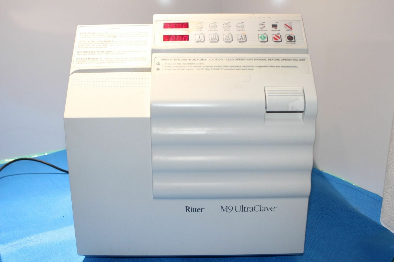 Midmark M9 Ultraclave Dental Steam Autoclave Sterilizer for Instruments |  eBay