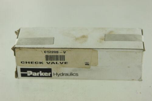 PARKER C1220SV CHECK VALVE NEW