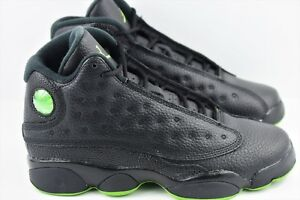 ab071cfe7ff831 Nike Air Jordan 13 Retro BG Youth Size 6Y Shoes Black Women Size 7.5 XIII  414574