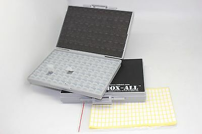 2 Empty Box-all-72 Enclosures Boxes 4 Smd Smt Resistor Capacitor Organizer 0603