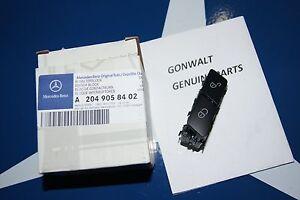 Mercedes Benz C C300 C350 Class  Driver Side Lock Door Switch 2049058402 W204