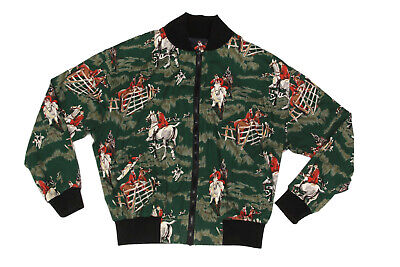 Vintage DB Gear Riding Equestrian Horse Reversible USA Mens Jacket sz Large 9947 for sale  Shipping to India