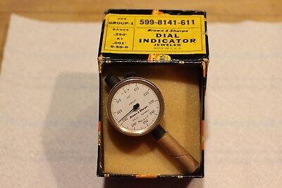 Brown Sharpe Jeweled Dial Indicator 599-8141-611