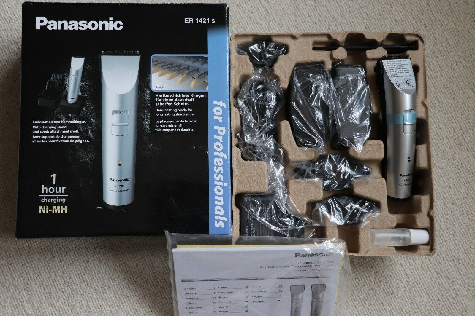 Panasonic ER 1421 ER1421 s Haarschneider, Haarschneidemaschine - NEU in OVP