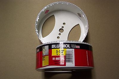 5 1 2  Blu Mol Hole Saw Bit   Bi Metal      Bms  Free Shipping