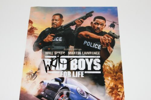 ACTOR MARTIN LAWRENCE SIGNED 'BAD BOYS FOR LIFE' 12x18 MOVIE POSTER w/COA 2020