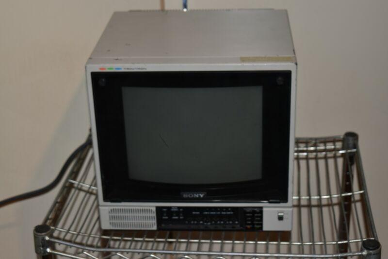 ^^ Sony PVM-1271Q COLOR VIDEO MONITOR - RETRO GAMING    (GW8)