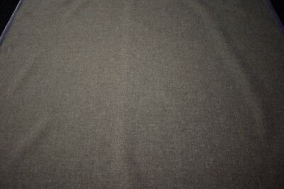 "Commercial Grade Heather Gray Tweed Canvas Fabric 55"" Seat Upholstery Industrial for sale  Shipping to India"