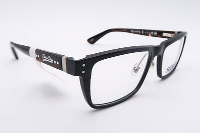 Superdry Foundry Eyeglasses Frames 004 Brown Tortoise 55[]17-140 Black C651