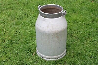 Milk Churn, French, Aluminium, Vase, Wedding, Storage. #2