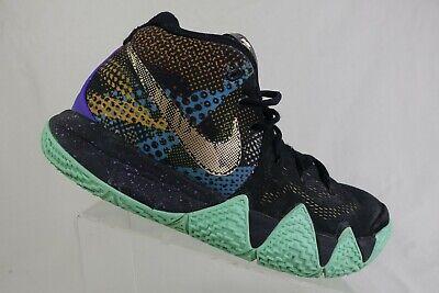 NIKE Kyrie 4 Black Sz 9 Basketball Shoes