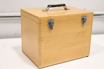 Spectra Tech Contact Sampler Atr Qc Wooden Case Box Only