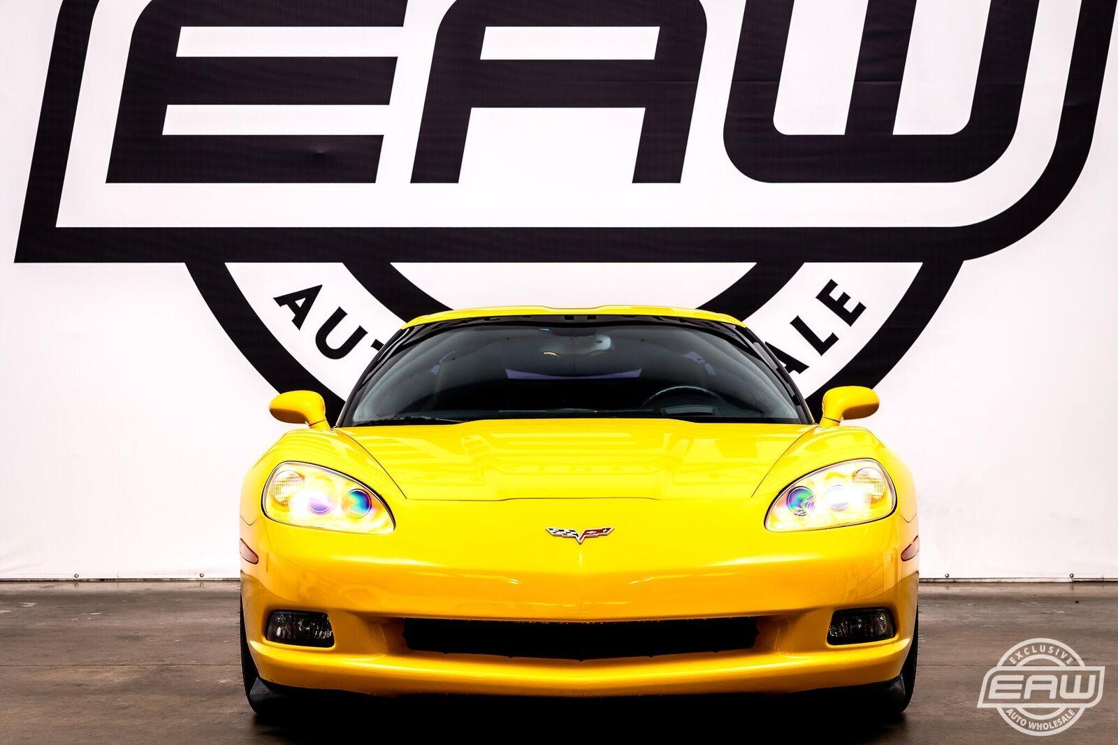 2005 Yellow Chevrolet Corvette Coupe  | C6 Corvette Photo 6