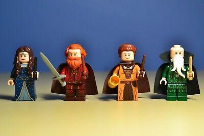 Lego Harry Potter 71043 Salazar Helga Hufflepuff Rowena & Godric Minifigures 3