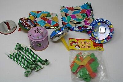 Vintage Noise Makers Party Supplies Tin toys