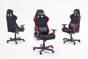 DX Racer Bürostuhl Computerstuhl Gamer Chair schwarz - rot Woody 41-00305