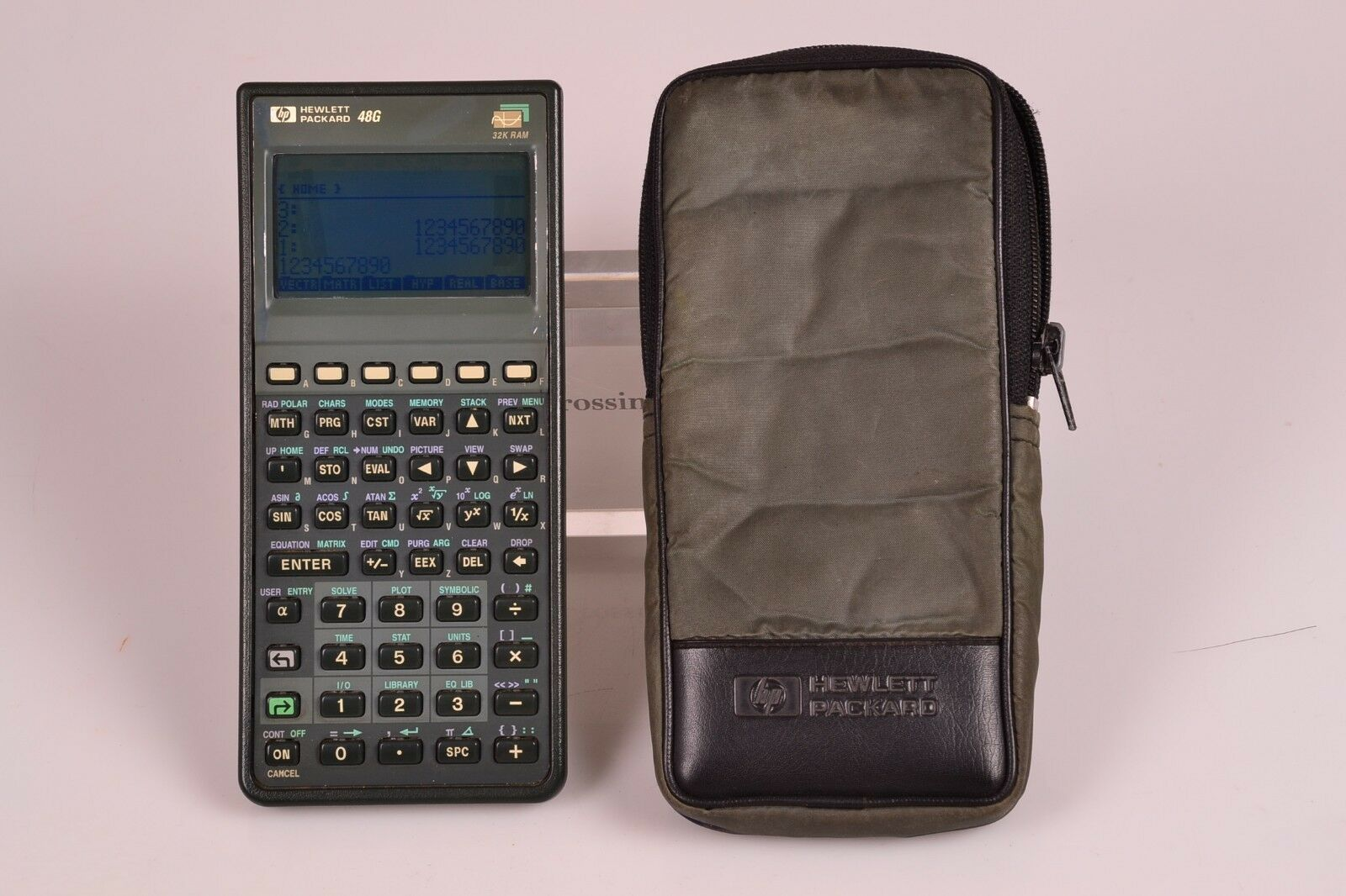 Good HP 48g Graphing Calculator Dark Screen 100% Operating #62 - Free Shipping