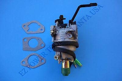 Powerland PDW210E 210A 3500 4000 Watts 16HP Generator Welder Carburetor Manual