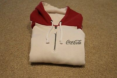 COCA COLA HOODY MENS LARGE